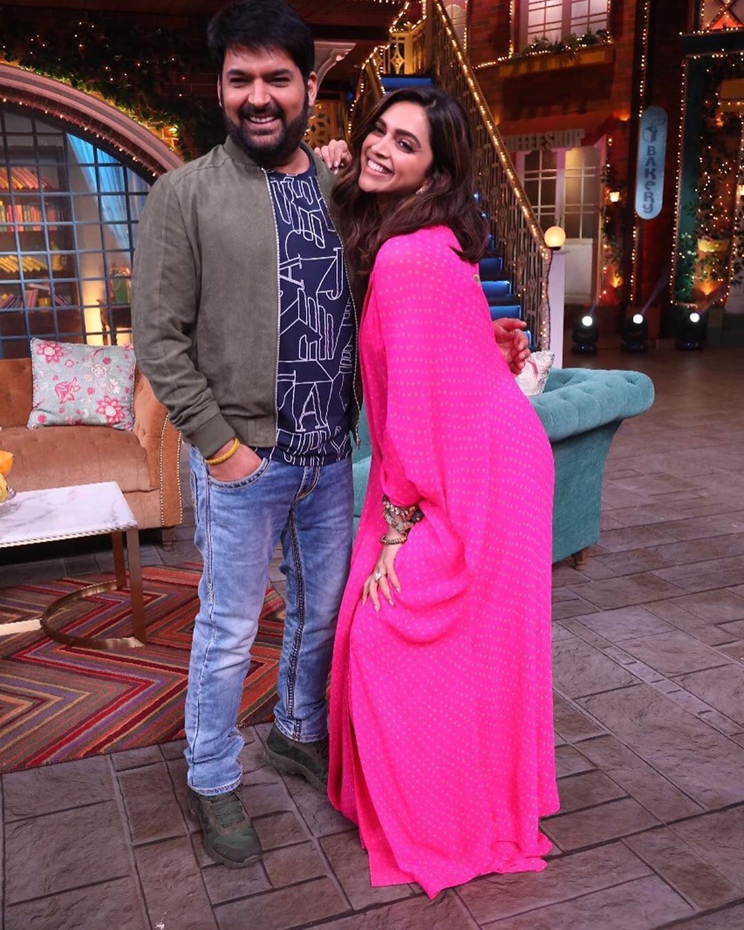Kapil Sharma and Deepika Padukone Chapak