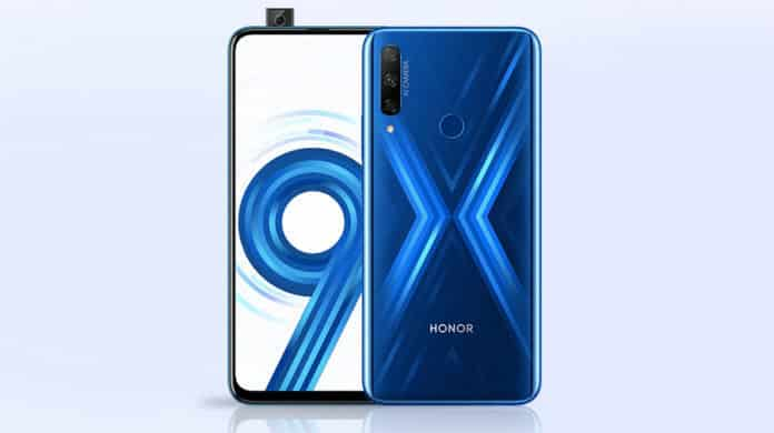 Honor 9X ;aunch Date in India