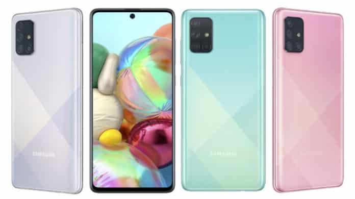 Samsung Galaxy A71 Launch Date in India