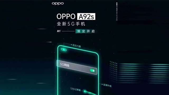OPPO A92S 5G Features
