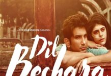 Sushant Singh Rajput Dil Bechara Movie