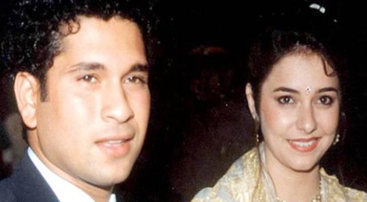 Sachin and Anjali First Time Airport