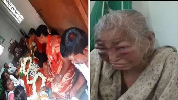 85-Year-Old Woman Killed by Beating