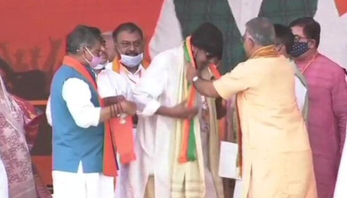 Mithun Chakraborty Joins BJP News