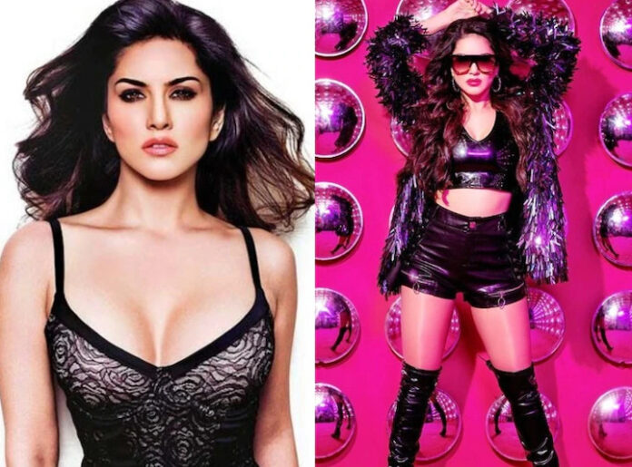 Sunny Leone Black Outfit Dress