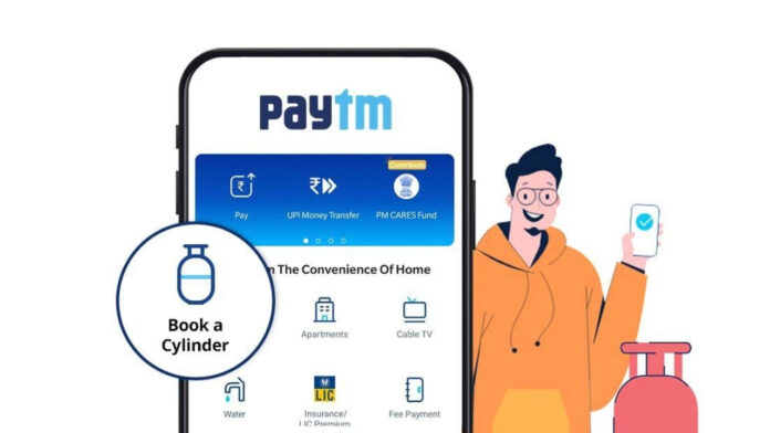 How to Book Cylinder on Paytm