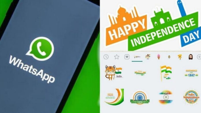 Happy Independence Day Stickers 2021