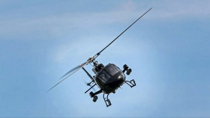Indian Army Helicopter Crashes in Pathankot