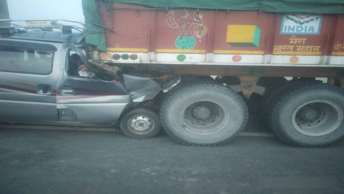Road Accident in Chaksu Today